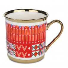 كوب شاي وقهوة تراثي بورسلين القط العسيري 330 مل السنيدي