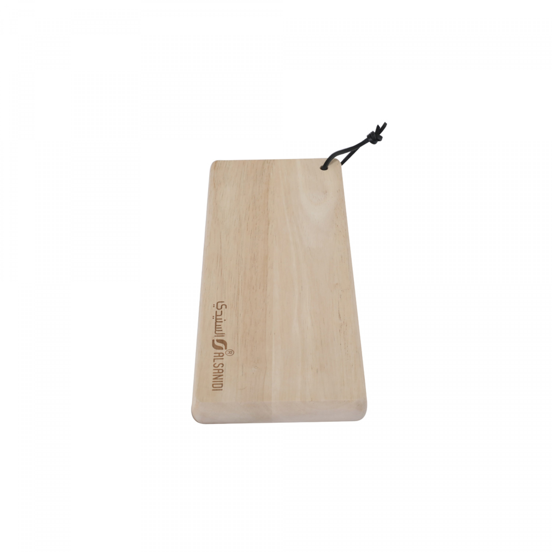 لوح تقطيع خضار خشب السنيدي 12*30 سم