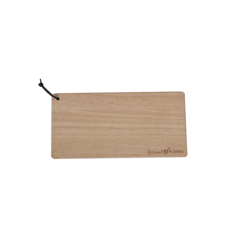 لوح تقطيع خضار خشب السنيدي 17*35 سم