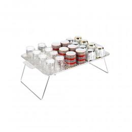 طاولة تنشيف اواني حديد مجلفن السنيدي 50*30*17.5 سم