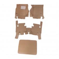 تلبيسة داخلية لارضية السيارة جلد ثقيل DPT 5 قطع