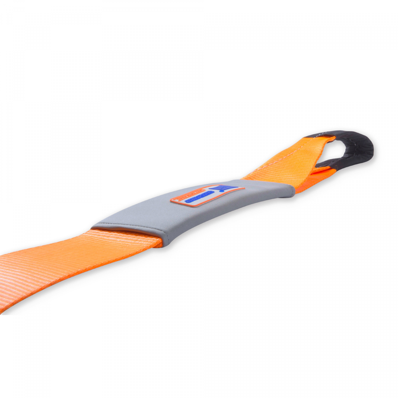 DPT حبل سحب للسيارات حبل سحب الطوارئ للسيارة 10 م *10 سم قوة 15 طن