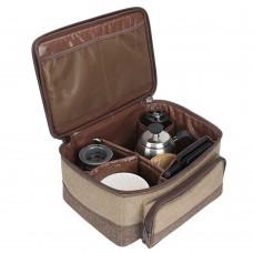 شنطة عدة القهوة المختصة السنيدي 8 قطع