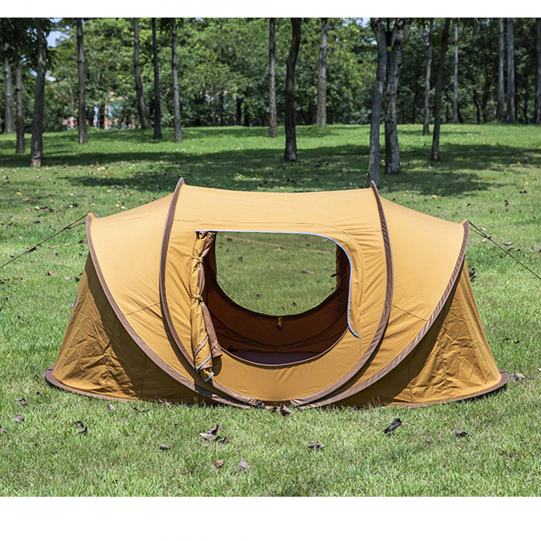 السنيدي خيمة المبيت تلقائية قطن خيمة رحلات 150*250*110 سم