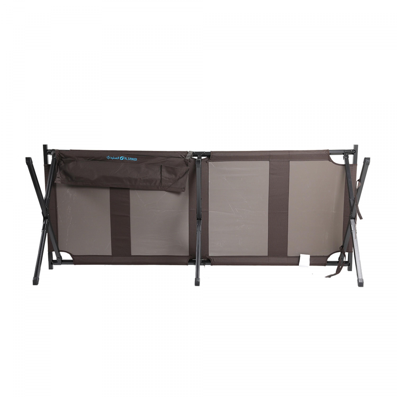 سرير نوم مخيمات مطور الومنيوم السنيدي 80*210 سم