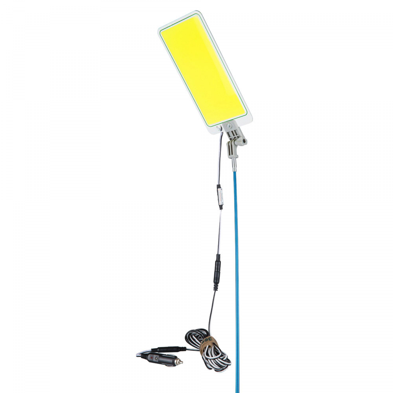 السنيدي لمبة السنارة مصباح LED COB متعدد الوظائف للأماكن الخارجية متعدد الأوضاع للتخييم طول 4.5 م