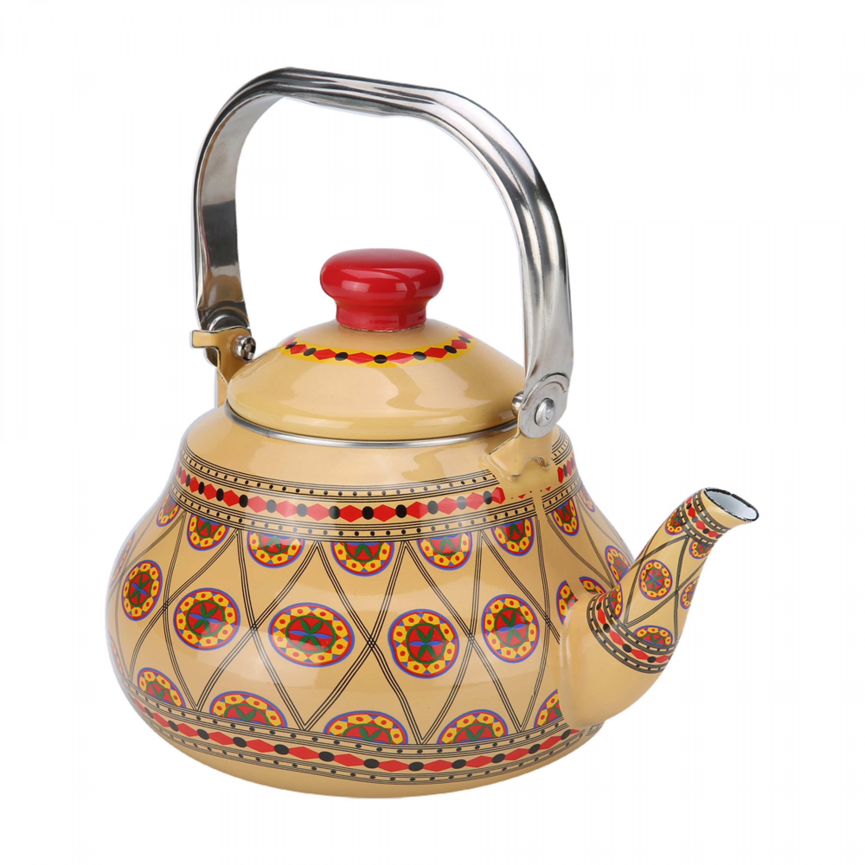 السنيدي ابريق شاي غضار نجدي 2 لتر