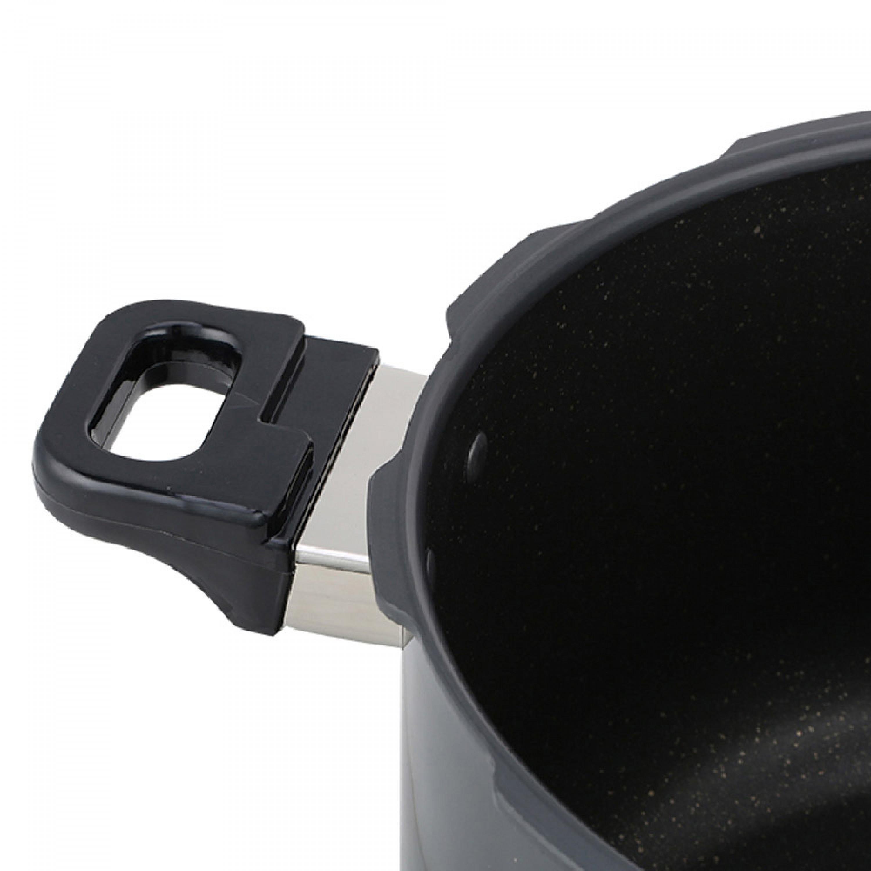 TIERRA قدر ضغط الومنيوم مطلي سيراميك كوري 9.5 لتر