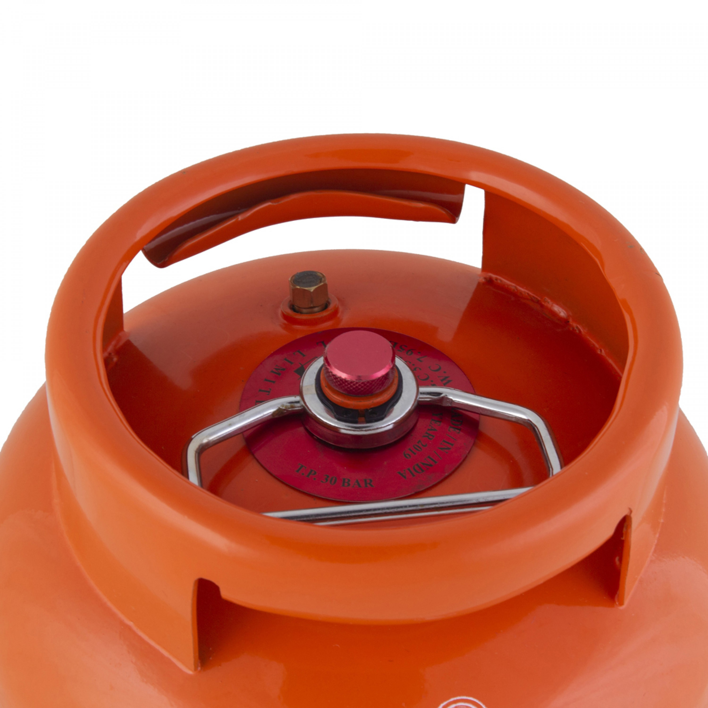 اسطوانة غاز PKL هندي برقبة قابلة للتعبئة 3.3 كيلو