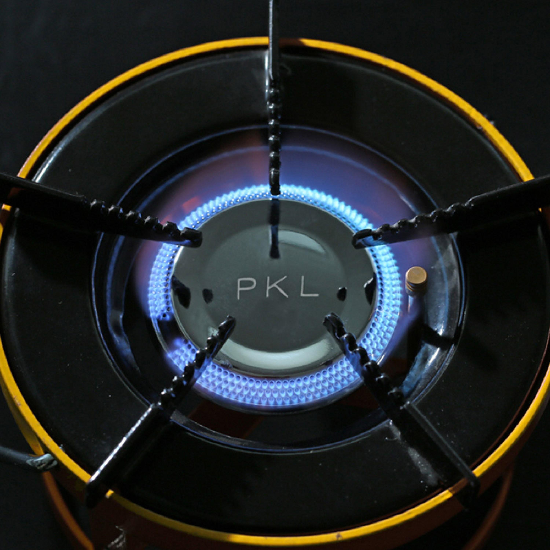 PKL موقد غاز للمخيمات سرهيد هندي موقد تخييم صغير 18.5 سم